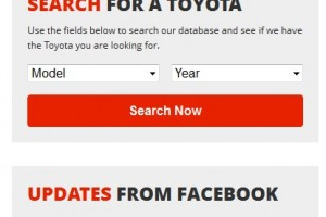 Toyota car Parts Search